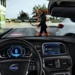 Cea mai sigura masina din lume. Volvo V40 are airbag pentru pietoni si senzori care impiedica tamponarea