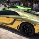 Cea mai scumpă maşină din lume construită din 500 kg de aur